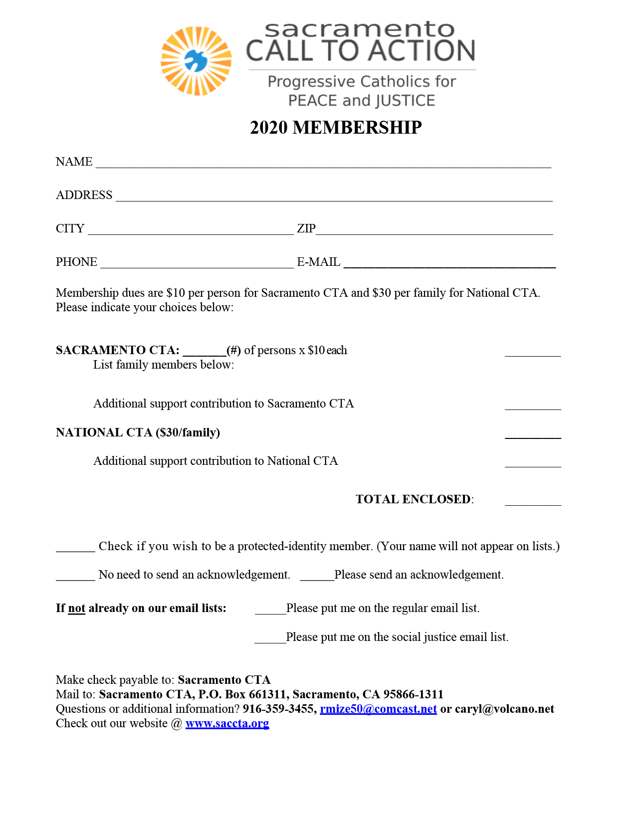 2020 membership form - pdf version - opens in new tab
